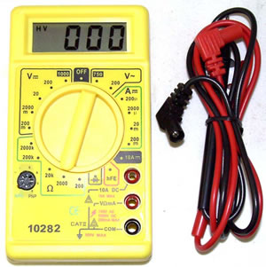 Multi-Tester Digital 1000v $18.00