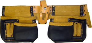 Tool Bag Leather Double Pouch $35.00
