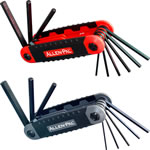 Hex Key Set Inch-Metric Folding 17pce $18.20