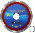 Diamond Blade Continuous 105mm  $7.45