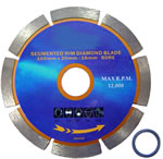 Diamond Blade Segmented 115mm  $12.75