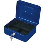 Metal Cash Box with Coin Tray  $21.25