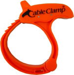 Cable Clamp Large Orange  $3.95