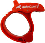 Cable Clamp Medium Orange  $2.45