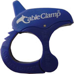 Cable Clamp Small Blue  $2.15